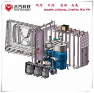 China Acrylic Car Mirrors Vacuum Metalizing Machine , Logos and Signs Vacuum Metalizing Machine wholesale
