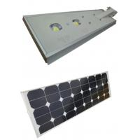 China Waterproof Solar Powered Led Street Lights 60W With  Intelligent Light Control wholesale
