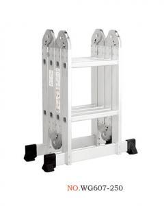 China Retractable 2.5m 4X2 Multi Purpose Ladder wholesale