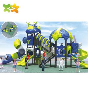 China Anti Crack Backyard Plastic Playground Slide For Child 3 Years Old wholesale