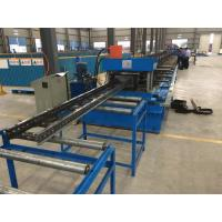 China Steel Channel Ladder Cable Tray Making Cold Roll Forming Machine 10 - 12 m / min wholesale