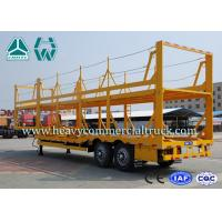 China Light Weight Car Carrier Semi Trailer Hydraulic Lifting Vehicle Hauling Trailers wholesale