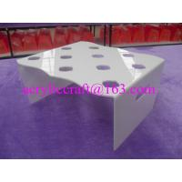 China Wholesale Custom Acrylic Ice Cream Cone Display Rack Plexiglass Cone Holder wholesale