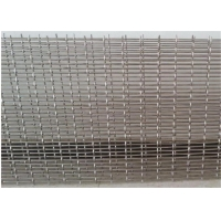 China Stone Filter Ss302 2.2m Width Galvanized Crimped Wire Mesh wholesale