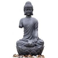 China Large Zen Inspired Asian Buddha Water Fountain Water Features For Garden wholesale