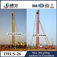 China 26m Depth DFLS-26 Rotary Hydraulic Piling Rig Manufacturer on sale