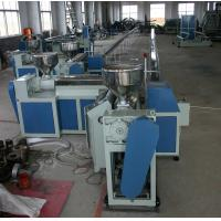 Buy cheap Flexible Plastic Tubing Extrusion Machines , 75Kw Plastic Pipe Manufacturing from wholesalers