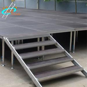 China Portable Aluminum Mobile Concert Stage Anti UV 1.22M*2.44M wholesale