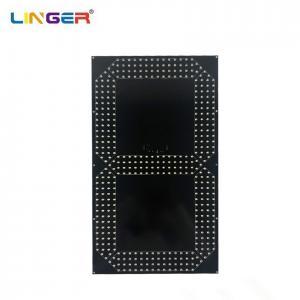 China 20 Inch Single Yellow 7 Segment Digit Board To Make Football Scoreboard wholesale