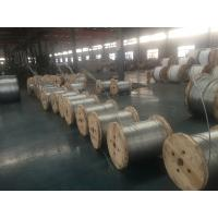 China AISI ASTM BS DIN GB JIS High Tension Hot Dipped Galvanized Steel Wire Strand Stay Wire Guy on sale