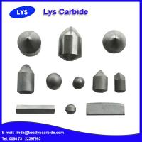 China Tungsten Carbide Teeth / Carbide Buttons For Mining Tools wholesale