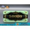 China Custom Ceramic Clay And Plastic Casino Poker Chips With Custom Logo YM- CP030-31 wholesale