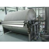 China Stainless Steel Rotary Drum Dryer With 10 To 300 Seconds Drying Period wholesale