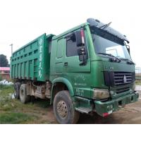 China Low Price Good Condition Used HOWO Dump Truck 12 Tyres 8X4 Tipper for DR CONGO wholesale