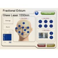 China 1550nm Fractional Erbium Glass Laser For Skin Resurfacing , Anti Wrinkle Machine wholesale