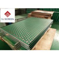 China API RP 13C Kemtron Shaker Screen Rectangle / Hexagonal Shape Green Color wholesale