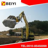 China Customized Excavator Hydraulic Rotating Grapple Wooden Grapple Log Grapple Stone Grapple wholesale