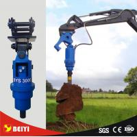 China Photovoltaic pile drill hydraulic auger driver equipment used on excavator 5-40 tons wholesale