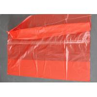 China Plastic Water Soluble Dissolvable Washing Bags / Disposable Laundry Bags Red Color wholesale