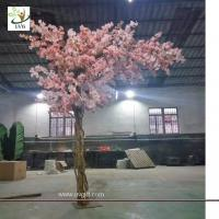 China UVG 11ft high pink color artificial cherry blossom trees for weddings CHR157 wholesale