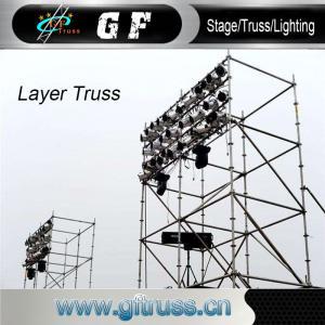 China Ladder Aluminium Scaffold Tower System Folding Platform For Building wholesale