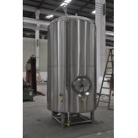 China Jacketed Brewery Bright Beer Tank , Stainless Steel Beer Brewing Tank wholesale