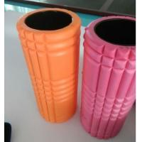 China Hard Grid EVA Material Hollow Foam Roller / Muscle Massage Roller 33 * 14 Cm Diameter wholesale