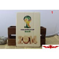 Quality 2014 Brazil World Cup Ipad Air Cartoon Cover Cases Multi Type Quality A++ Gift Box Include for sale