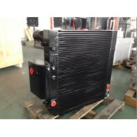 Quality Brazed Core Aluminum Plate Fin Heat Exchanger For Construction Machinery for sale