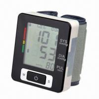 Quality Wrist Blood Pressure Monitor with Auto Power Off and 2 x AAA Batteries for sale