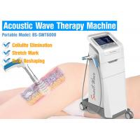 Buy cheap Body Reshaping Acoustic Wave Therapy Machine , Shockwave Therapy For Knee Pain from wholesalers