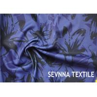 China Paper Print Warp Knitted Recycled Polyester Fabric 4 Way Stretch 180gsm on sale