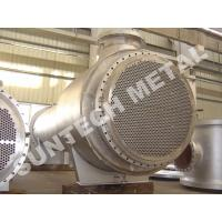 China Zirconium 60702 Floating Type Heat Exchanger , Floating Head Cooler wholesale