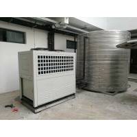 China Commercial CO2 Heat Pump Water Heaters 380V 50Hz For Space Heating wholesale