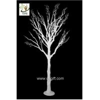 China UVG wedding centerpiece ideas white plastic dry tree fake decorative twigs for tables DTR29 wholesale