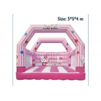 Buy cheap KT Cat Inflatable Bounce House Jumping Bouncer Fire Retardant For Kids from wholesalers