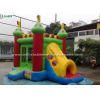 Quality 3 In 1 Outdoor Kids Bounce House Commercial Grade Tunnel Slide for sale