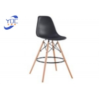 China Wood Legs Restaurant Restaurant Style Chairs With Padded Seat wholesale