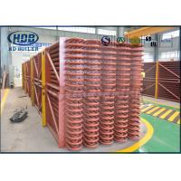 China Exhaust Heat Recovery System Low Temperature Boiler Economizer For CFB / HRSG Boiler wholesale