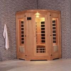 China Monalisa I-004 Western style infrared sauna room 2 persons far infrared sauna cabin far infrared light wave room light on sale