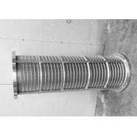 China Rotary Drum Johnson Wire Screen For Sugar Industry External Diameter 25--300mm wholesale