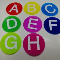 China Fire Retardant Hook And Loop Tape Cute Carpet Markers For Classroom wholesale