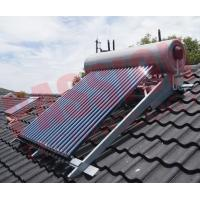 Buy cheap Integrated Pressurized Rooftop Solar Water Heater Silver Steel Outer Tank from wholesalers