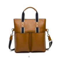 China Wholesale 2014 New designer fashionable top layer cowhide business men's/male's  bags wholesale