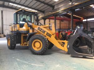 China SZM936L 92kw 3 Ton Wheel Loader With 3m3 Bucket wholesale