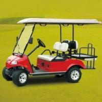 China Electric Golf Car with 5hp/4kW Horsepower, Available in White, Red, Yellow and Green wholesale