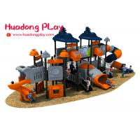 China Preschool Eco Friendly Plastic Outdoor Playground Structures Long Time Warranty wholesale