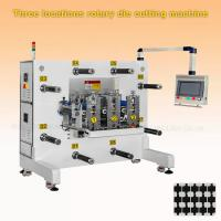 Quality Adhesive Waterproof Sticker Label Rotary Die Cutter Machine 50 M/Min 3500KG wholesale