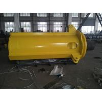 Quality Drawing Customed Nonstandard Heavy Steel Fabrication For Column Marine Crane Parts for sale