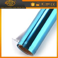China High heat rejection self-adhesive PET solar window film silver blue building film wholesale